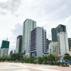 The Novotel Nha Trang is located right on the beach!