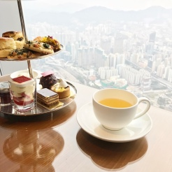 High tea with a view!