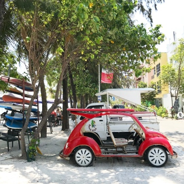 Punch Buggies on Hulhumalé