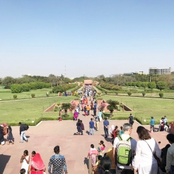 Gardens at the Lotus Temple