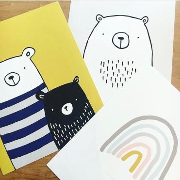 Beautiful Childrens Design Prints