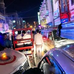 Delhi by night