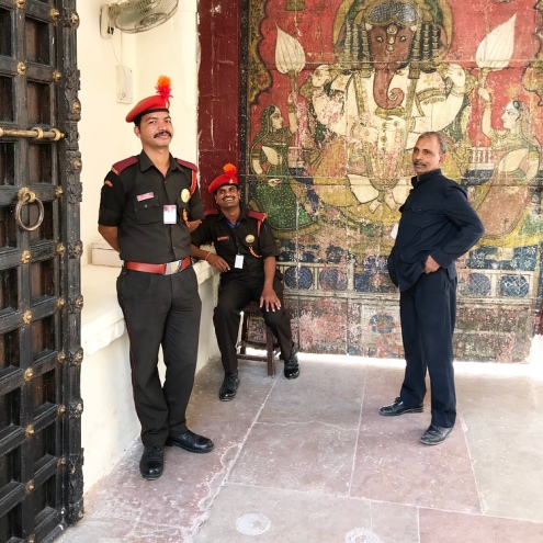 City Palace Guards
