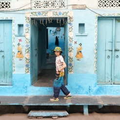 Colourful streets of Udaipur