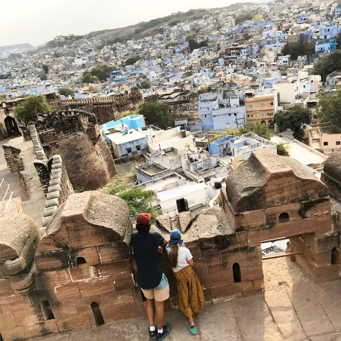Looking over Old Town Jodhpur