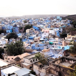 View over Jodhpur from Mehrangarh Fort