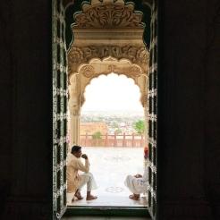 Inside Jaswant Thada