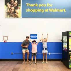 Happy Walmart shoppers!!!