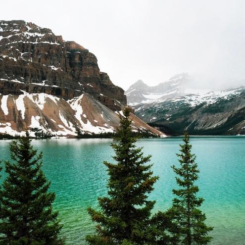 Incredible glacier lakes.