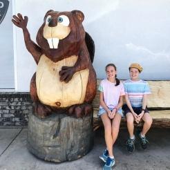 Stopped off in Beaver, Utah
